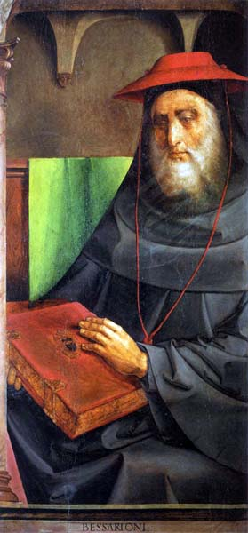 Cardinal Bessarione, Patriarca di Costantinopoli